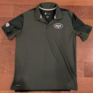 New York Jets Nike Dri-Fit NFL Training Polo